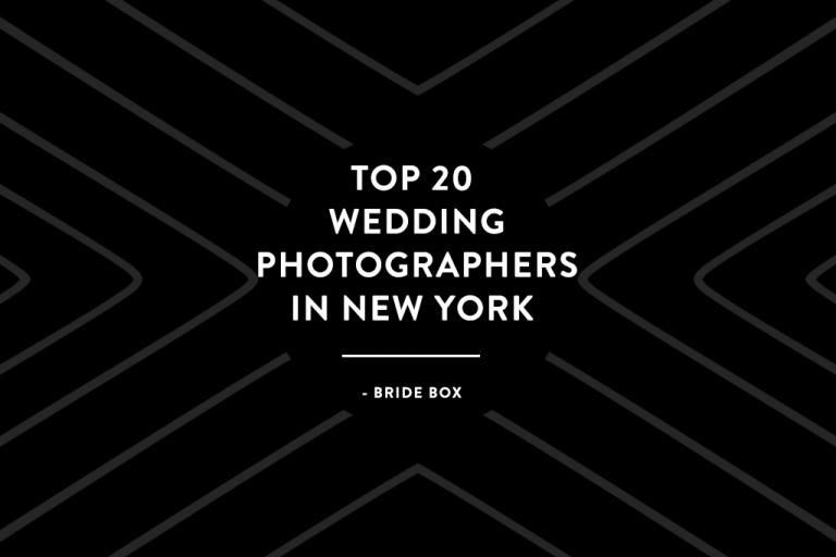 Top 20 wedding photographers in New York